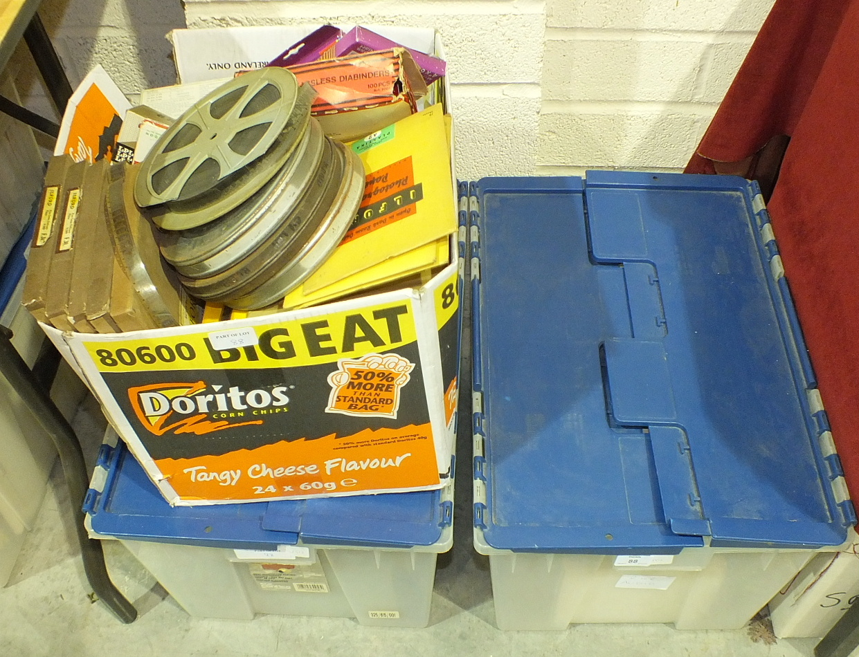 Lot 88 - A large collection of reel to reel audio tapes.