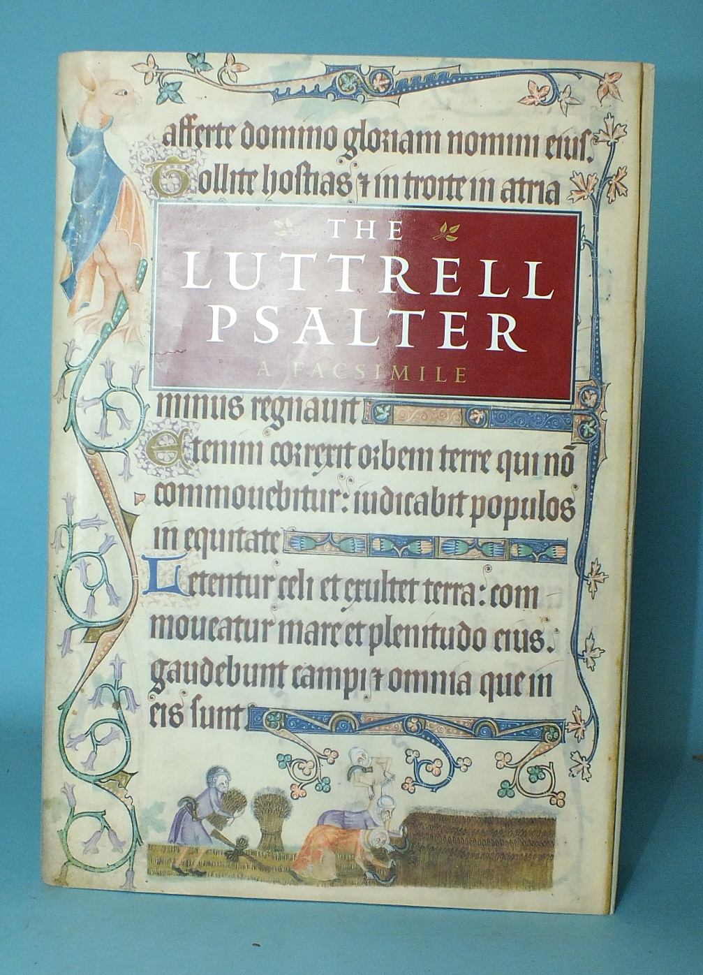 Lot 166 - The Luttrell Psalter, facsimile, commentary by Michelle P Brown, pub: British Library, dwrps, cl gt,