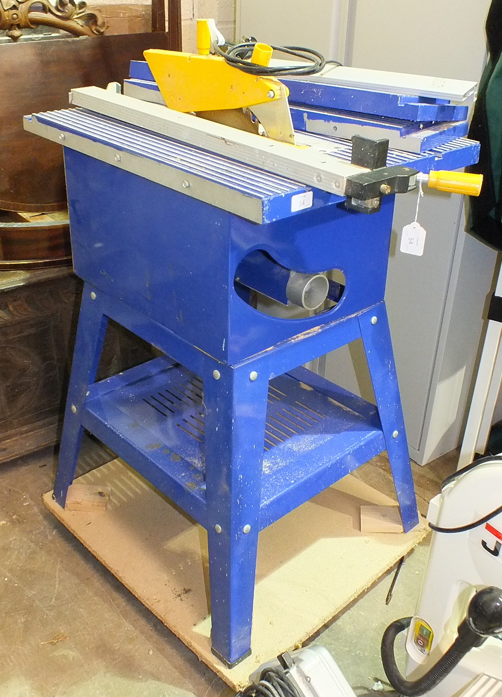 Lot 54 - A Charmwood 10'' table saw.