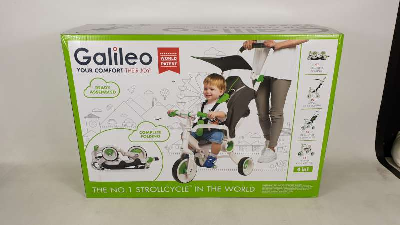 Lote 8 - BRAND NEW BOXED GALILEO 4 IN 1 FOLDABLE STROLLCYCLE