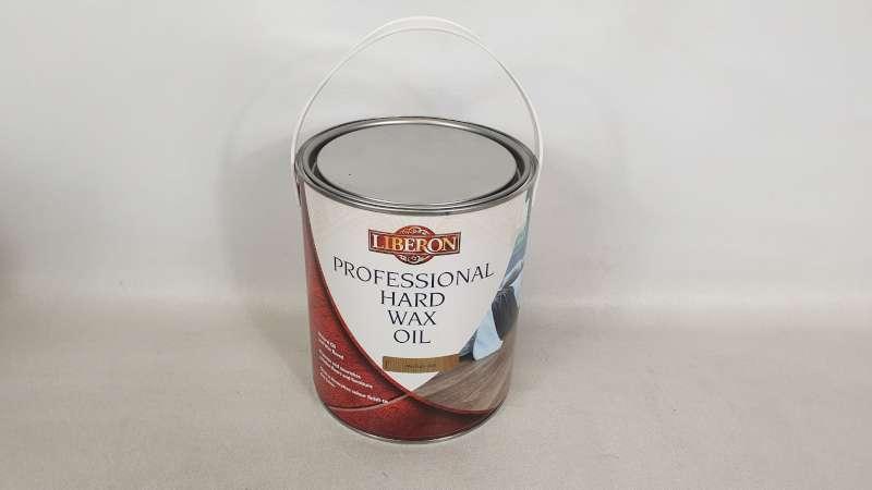 Lote 133 - 10 X 2.5 LITRE LIBERON MEDIUM OAK COLOURED PROFESSIONAL HARD WAX OIL