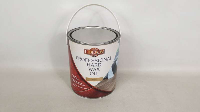 Lote 189 - 10 X 2.5 LITRE LIBERON NATURAL COLOURED PROFESSIONAL HARD WAX OIL