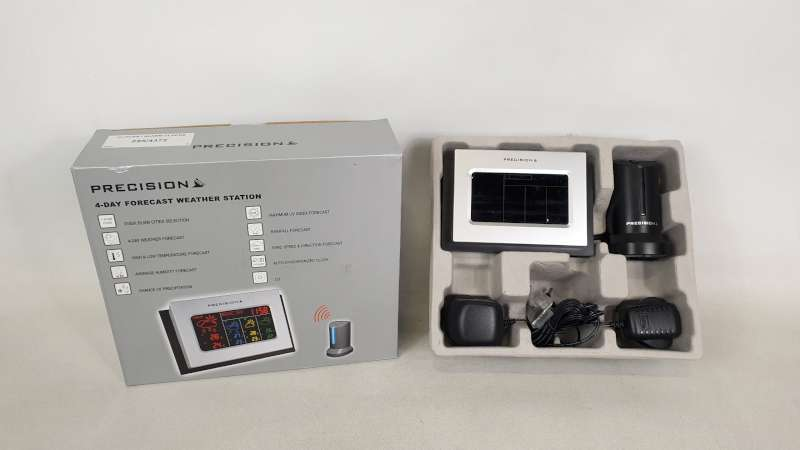 Lote 238 - 22 X PRECISION 4 DAY FORECAST WEATHER STATION IN 2 BOXES