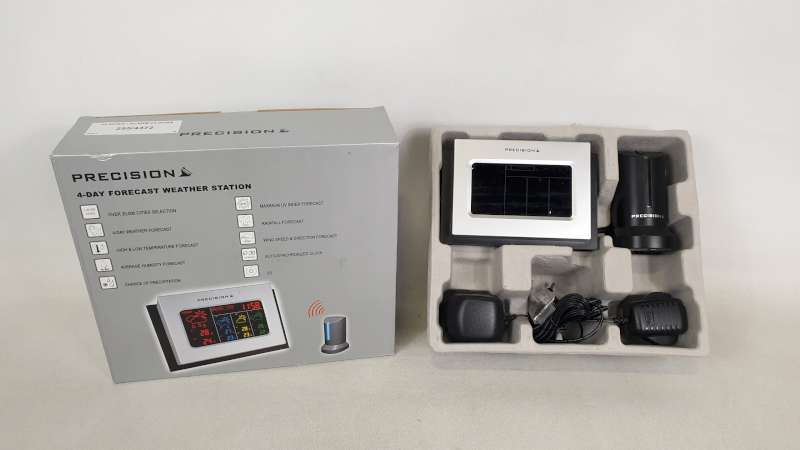 Lote 233 - 22 X PRECISION 4 DAY FORECAST WEATHER STATION IN 2 BOXES