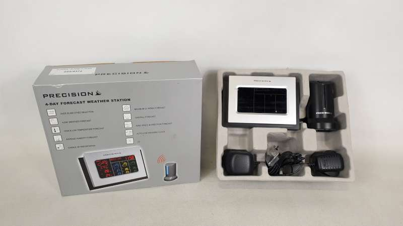 Lote 240 - 22 X PRECISION 4 DAY FORECAST WEATHER STATION IN 2 BOXES