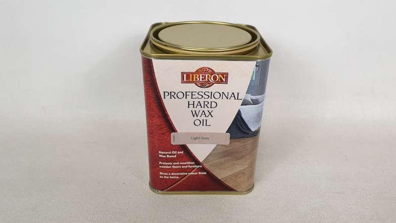 Lote 172 - 15 X 1 LITRE LIBERON PROFESSIONAL HARD WAX OIL COLOUR LIGHT GREY