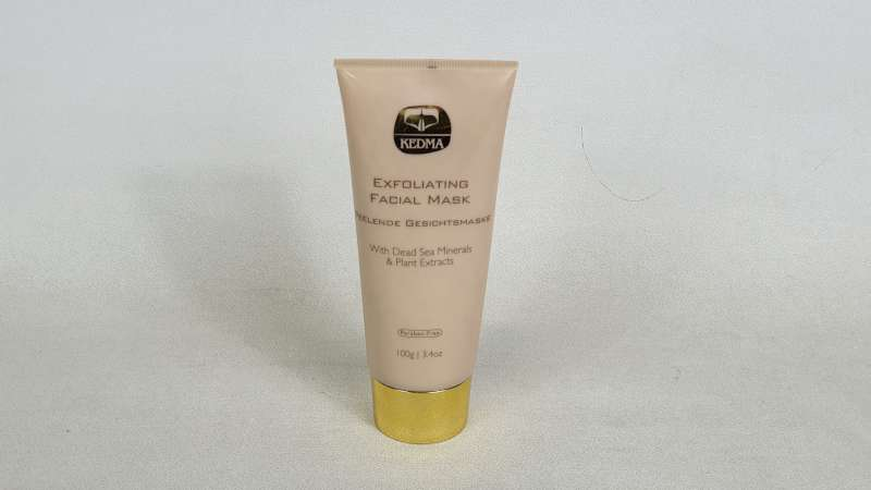 Lote 1136 - 25 X KEDMA 100G EXFOLIATING FACIAL MASK WITH DEAD SEA MINERALS AND PLANT EXTRACTS