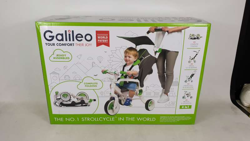 Lote 17 - BRAND NEW BOXED GALILEO 4 IN 1 FOLDABLE STROLLCYCLE