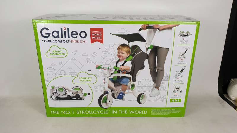 Lote 18 - BRAND NEW BOXED GALILEO 4 IN 1 FOLDABLE STROLLCYCLE