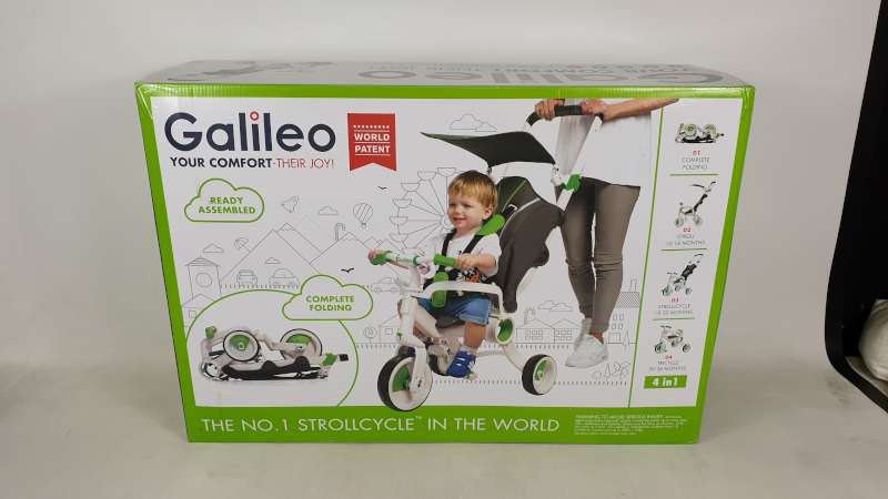 Lote 11 - BRAND NEW BOXED GALILEO 4 IN 1 FOLDABLE STROLLCYCLE