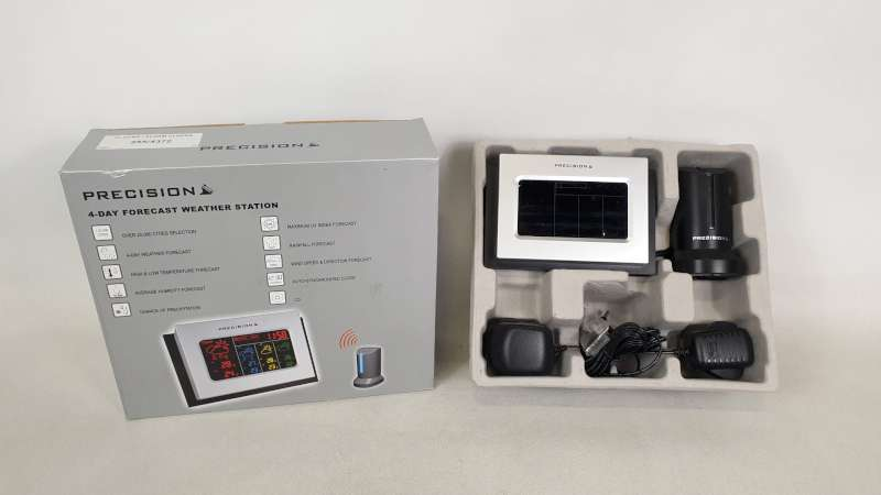 Lote 234 - 22 X PRECISION 4 DAY FORECAST WEATHER STATION IN 2 BOXES