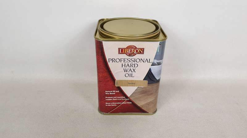 15 X 1 LITRE LIBERON NATURAL COLOURED PROFESSIONAL HARD WAX OIL