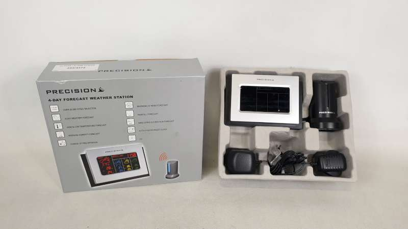 Lote 236 - 22 X PRECISION 4 DAY FORECAST WEATHER STATION IN 2 BOXES