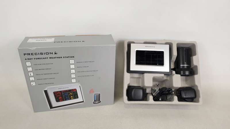 Lote 242 - 22 X PRECISION 4 DAY FORECAST WEATHER STATION IN 2 BOXES