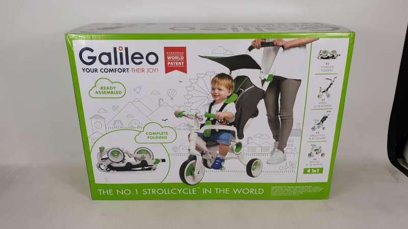 Lote 5 - BRAND NEW BOXED GALILEO 4 IN 1 FOLDABLE STROLLCYCLE