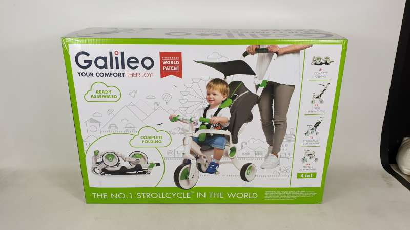 Lote 12 - BRAND NEW BOXED GALILEO 4 IN 1 FOLDABLE STROLLCYCLE