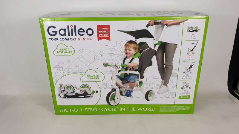 Lote 2 - BRAND NEW BOXED GALILEO 4 IN 1 FOLDABLE STROLLCYCLE