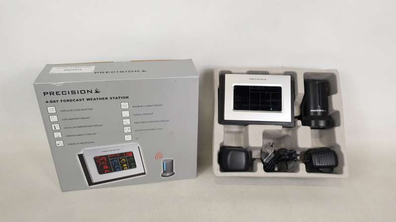Lote 239 - 22 X PRECISION 4 DAY FORECAST WEATHER STATION IN 2 BOXES