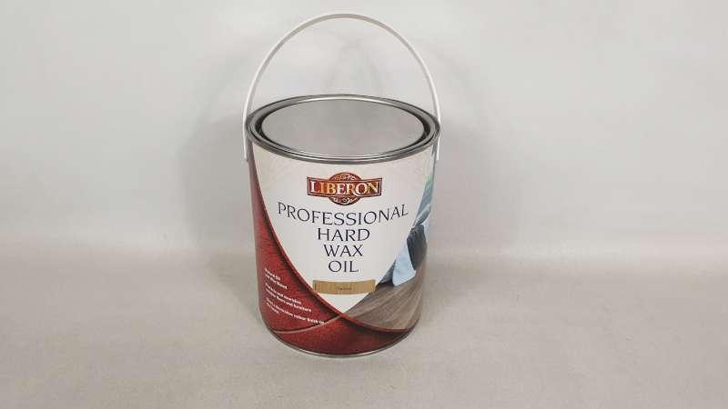 Lote 188 - 10 X 2.5 LITRE LIBERON NATURAL COLOURED PROFESSIONAL HARD WAX OIL