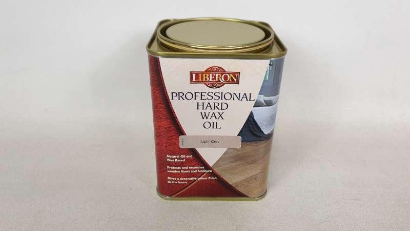 Lote 169 - 15 X 1 LITRE LIBERON PROFESSIONAL HARD WAX OIL COLOUR LIGHT GREY