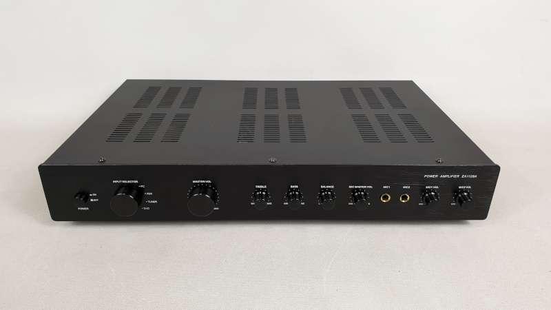 Lote 828 - 4 X EDIS POWER AMPLIFIER MODEL EA1128A IN 1 BOX