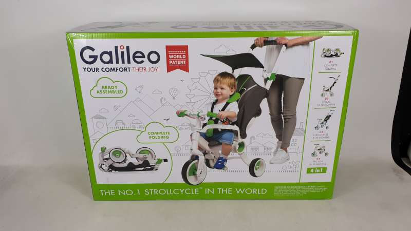 Lote 4 - BRAND NEW BOXED GALILEO 4 IN 1 FOLDABLE STROLLCYCLE