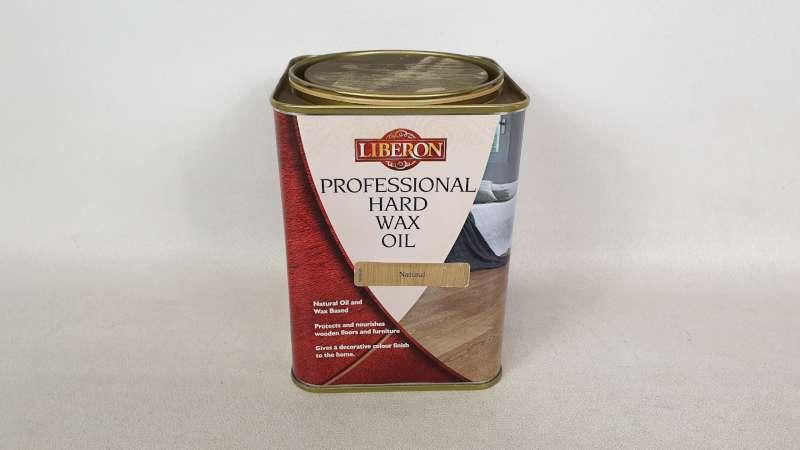 Lote 179 - 15 X 1 LITRE LIBERON PROFESSIONAL HARD WAX OIL COLOUR NATURAL