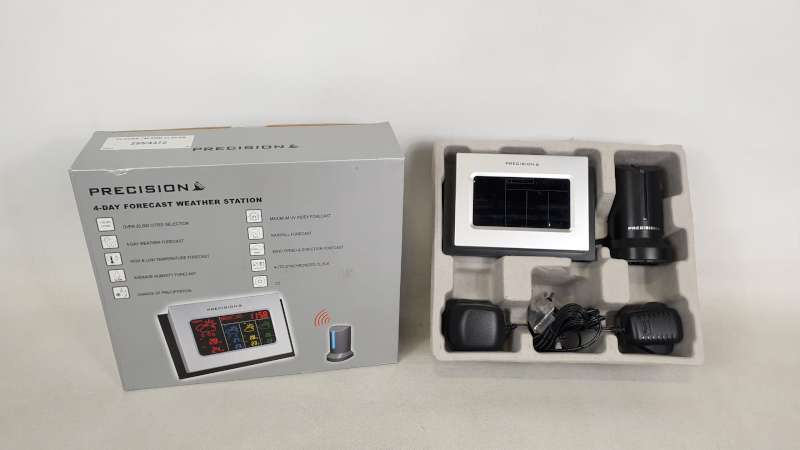 Lote 241 - 22 X PRECISION 4 DAY FORECAST WEATHER STATION IN 2 BOXES