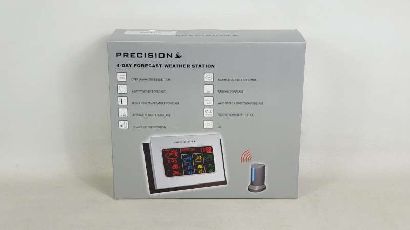 Lote 845 - 36 X PRECISION 4 DAY FORECAST WEATHER STATION