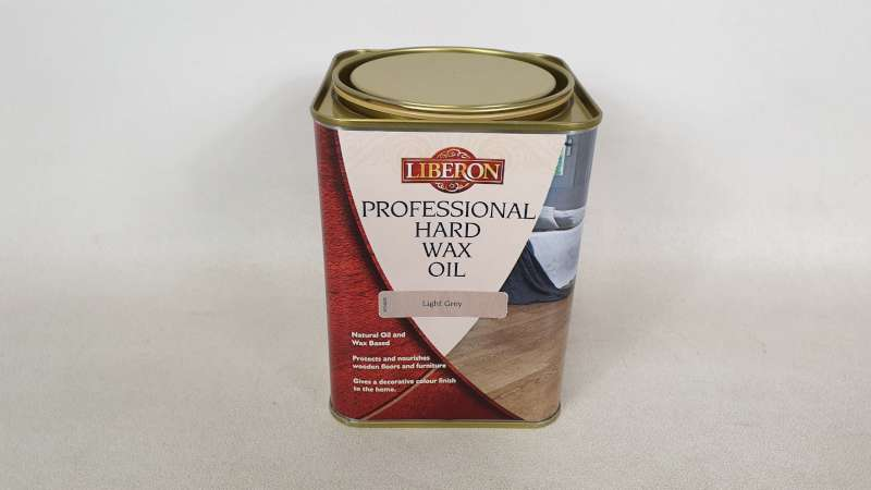 Lote 173 - 15 X 1 LITRE LIBERON PROFESSIONAL HARD WAX OIL COLOUR LIGHT GREY