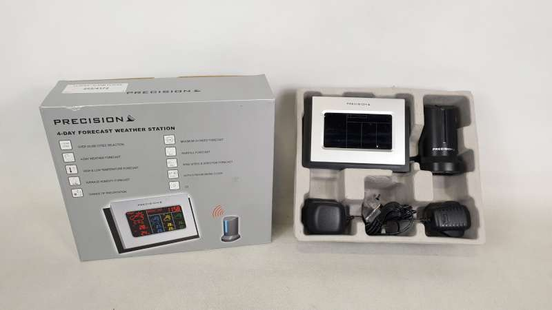 Lote 235 - 22 X PRECISION 4 DAY FORECAST WEATHER STATION IN 2 BOXES