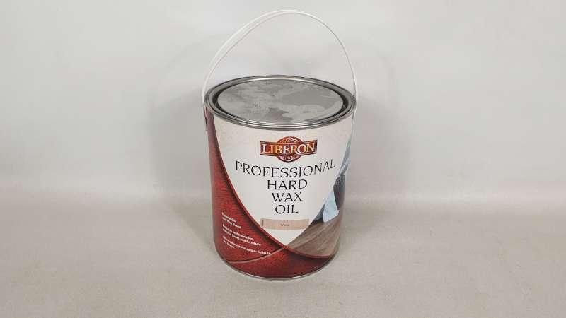 Lote 149 - 10 X 2.5 LITRE LIBERON WHITE COLOURED PROFESSIONAL HARD WAX OIL