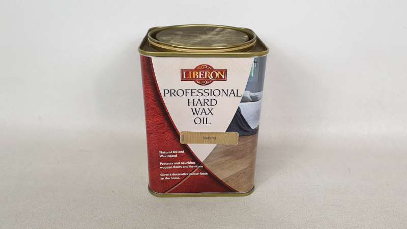 Lote 184 - 15 X 1 LITRE LIBERON PROFESSIONAL HARD WAX OIL COLOUR NATURAL