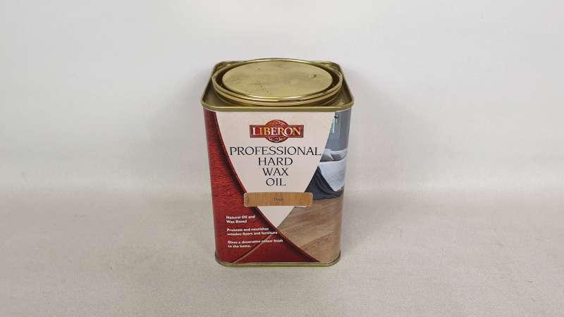 15 X 1 LITRE LIBERON TEAK COLOURED PROFESSIONAL HARD WAX OIL