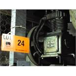 GARDNER DENVER ADR-1011 PISTON TYPE VERTICAL AIR COMPRESSOR WITH 15 HP MOTOR, S/N: 179473 (CI)
