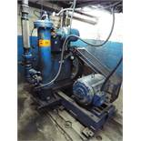 BROOMWADE BW4L PISTON TYPE AIR COMPRESSOR WITH 50 HP MOTOR, S/N: E0210619 (CI)