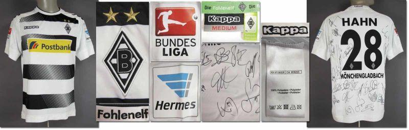 Matchworn Von Stindl Fussball Borussia Lars Mönchengladbach