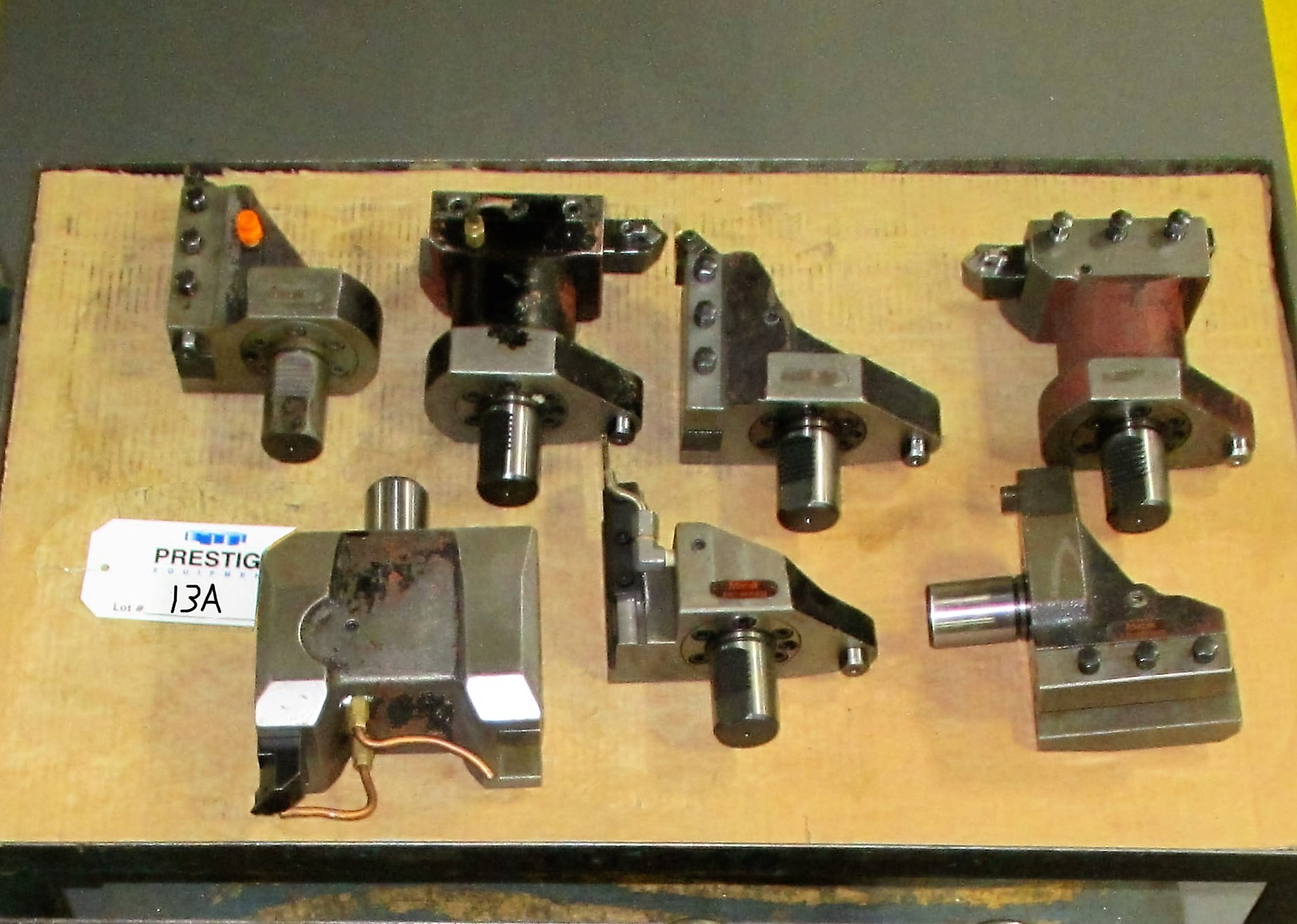 (7) O.D. Fixed/Stationary Tool Holders For Mazak QTN-250II-MSY CNC Turning Center