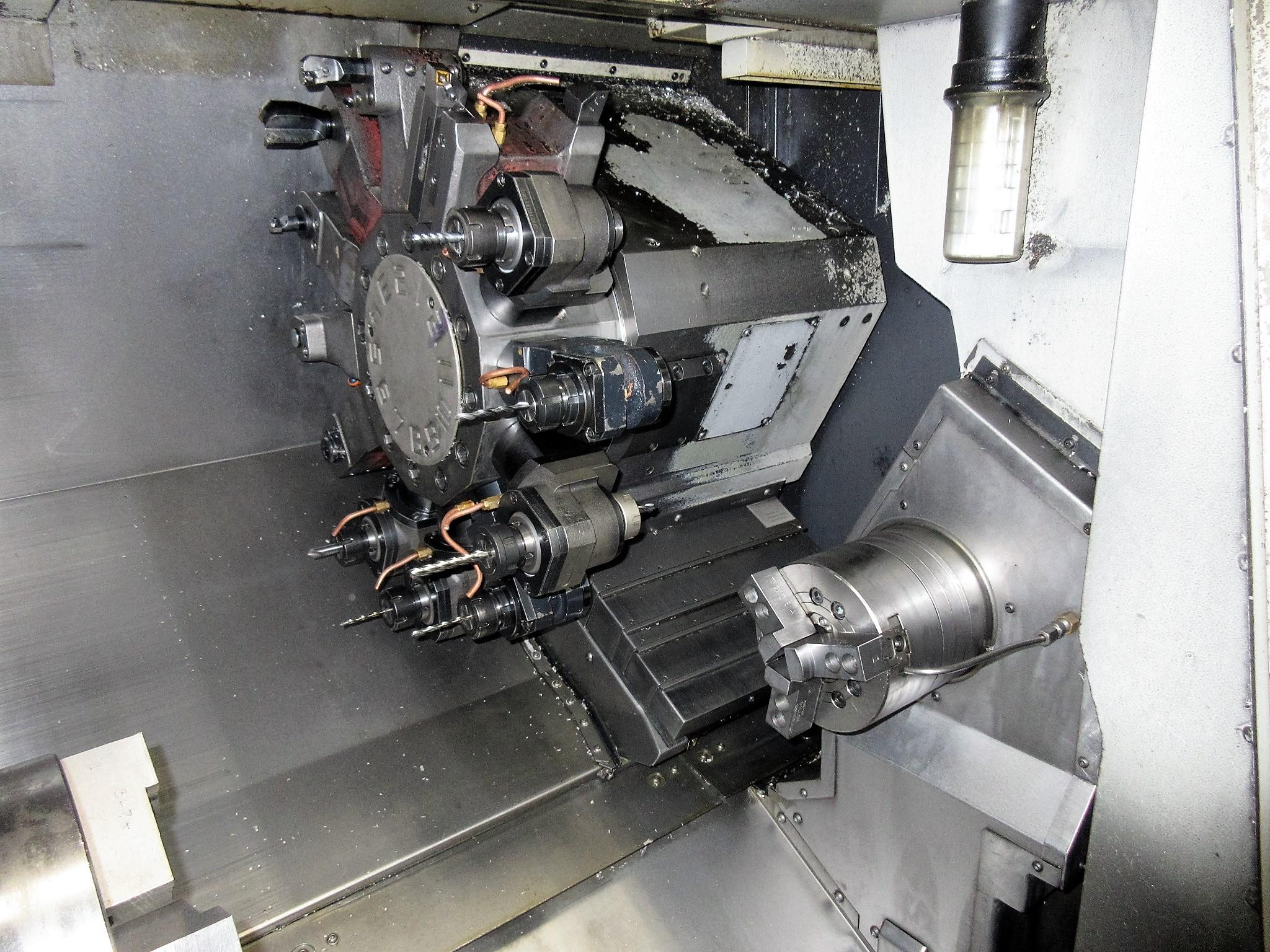 MAZAK QUICK TURN NEXUS 250-II MSY CNC TURNING CENTER - Image 6 of 16