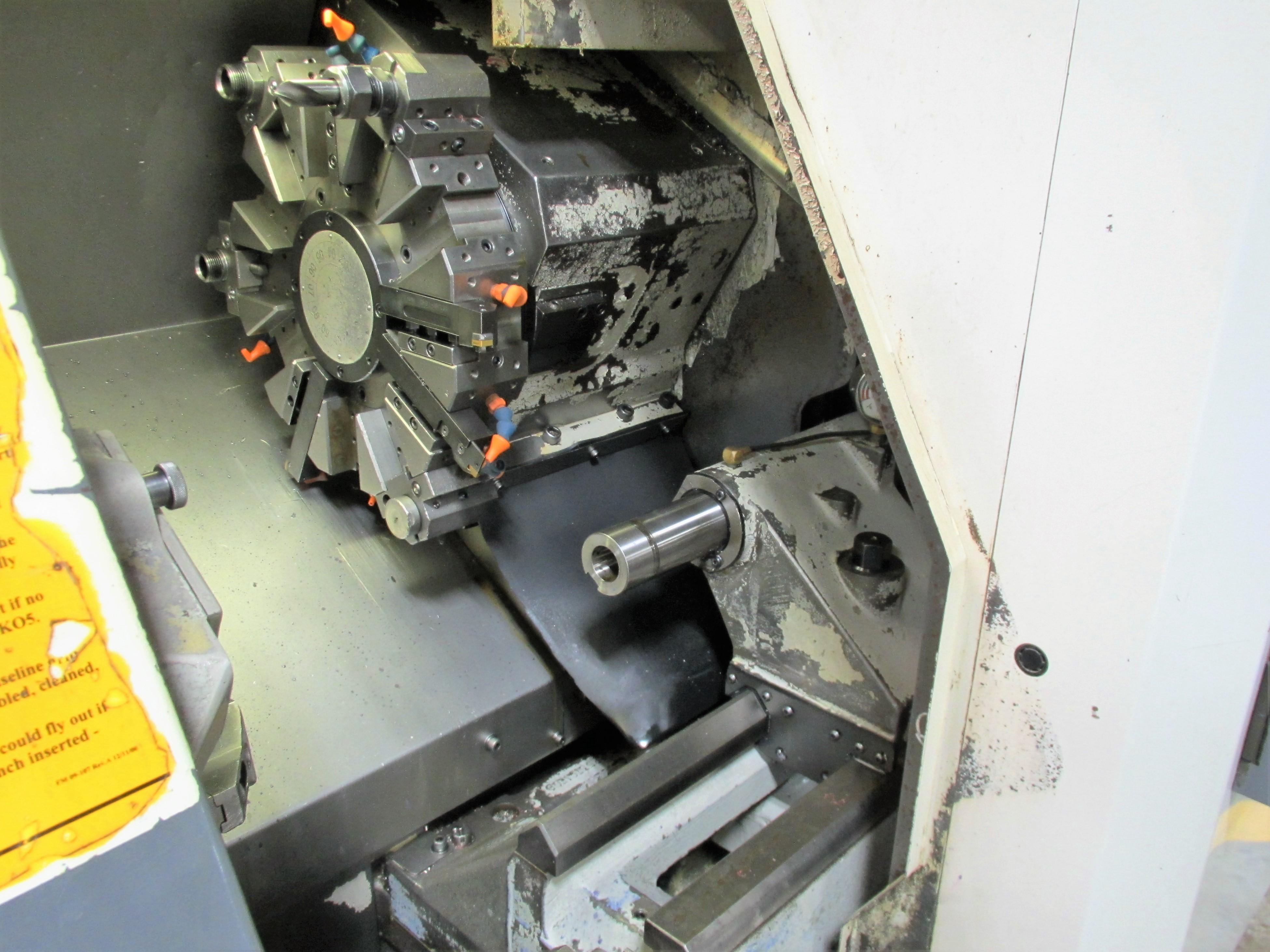 MAZAK QT-200 CNC TURNING CENTER - Image 5 of 14