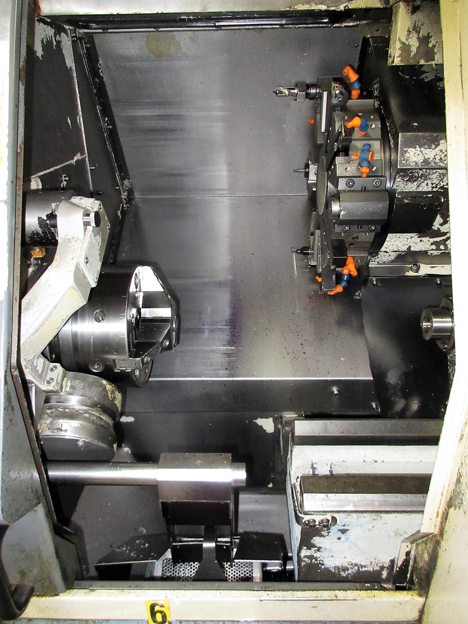 MAZAK QT-200 CNC TURNING CENTER - Image 3 of 14