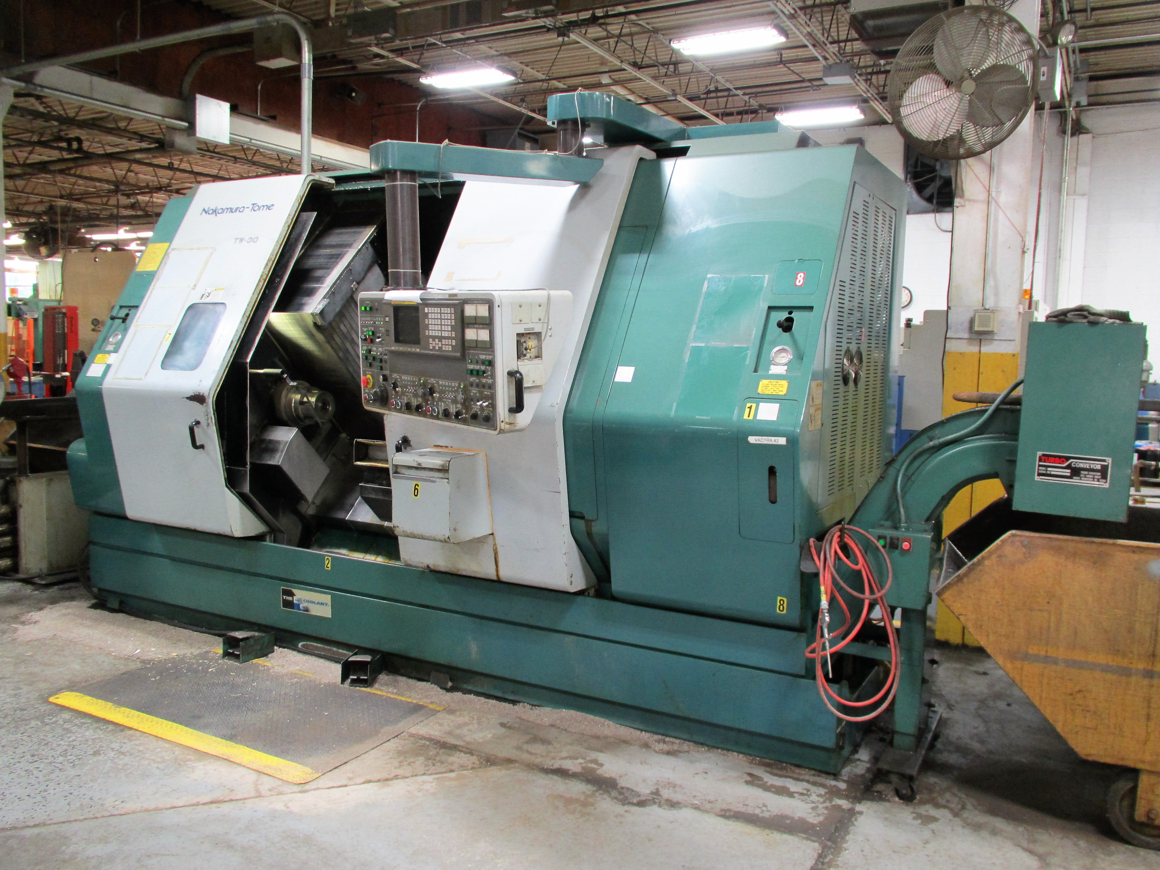 NAKAMURA TOME TW-30MM 7-AXIS CNC TWIN SPINDLE TURNING CENTER - Image 2 of 21