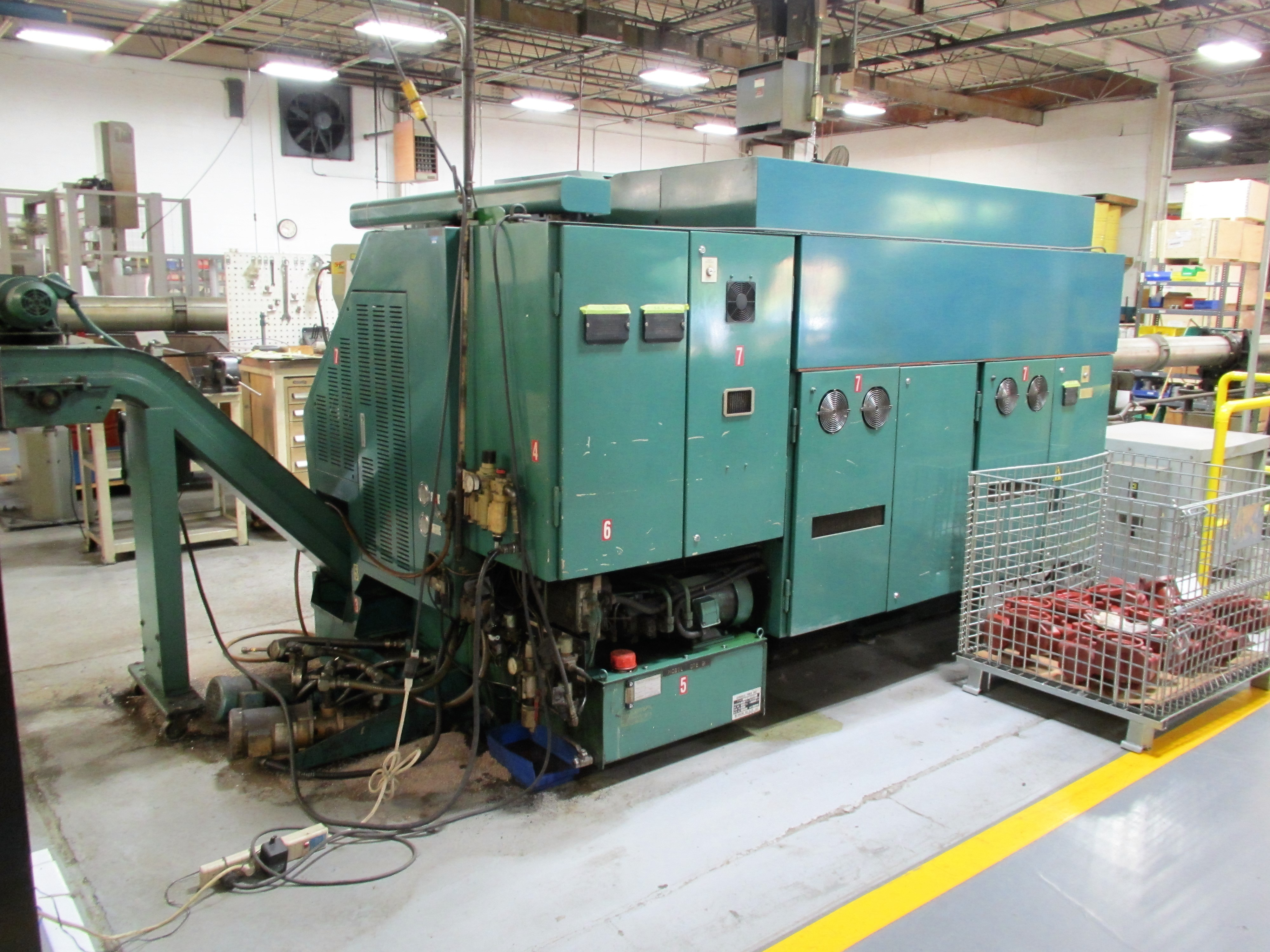 NAKAMURA TOME TW-20 6-AXIS CNC TWIN SPINDLE TURNING CENTER - Image 8 of 17
