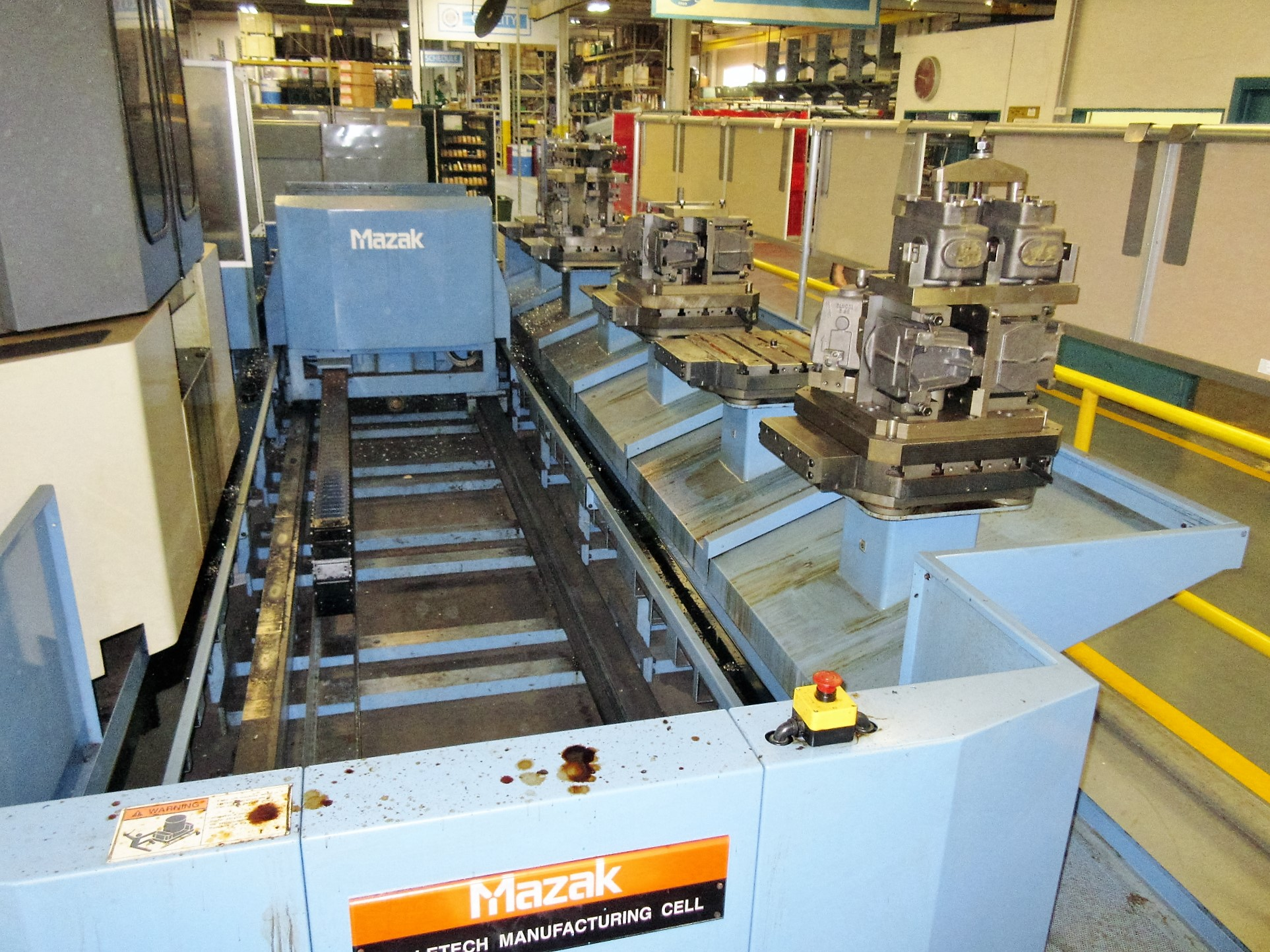 Mazak FH-6000 CNC Horizontal Machining Center With Palletech System - Image 6 of 21