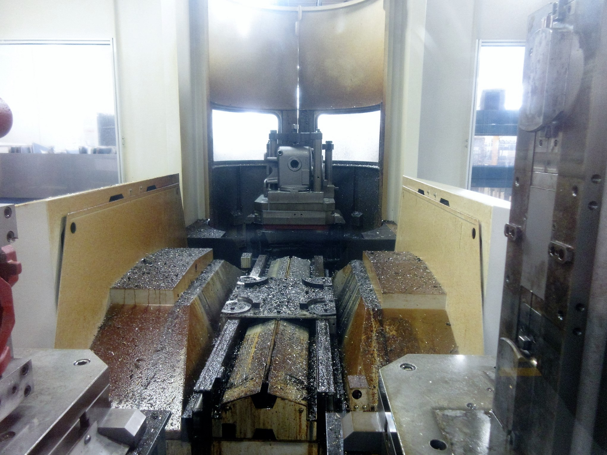 Mazak HCN-6000-II CNC Horizontal Machining Center With Palletech System - Image 12 of 22