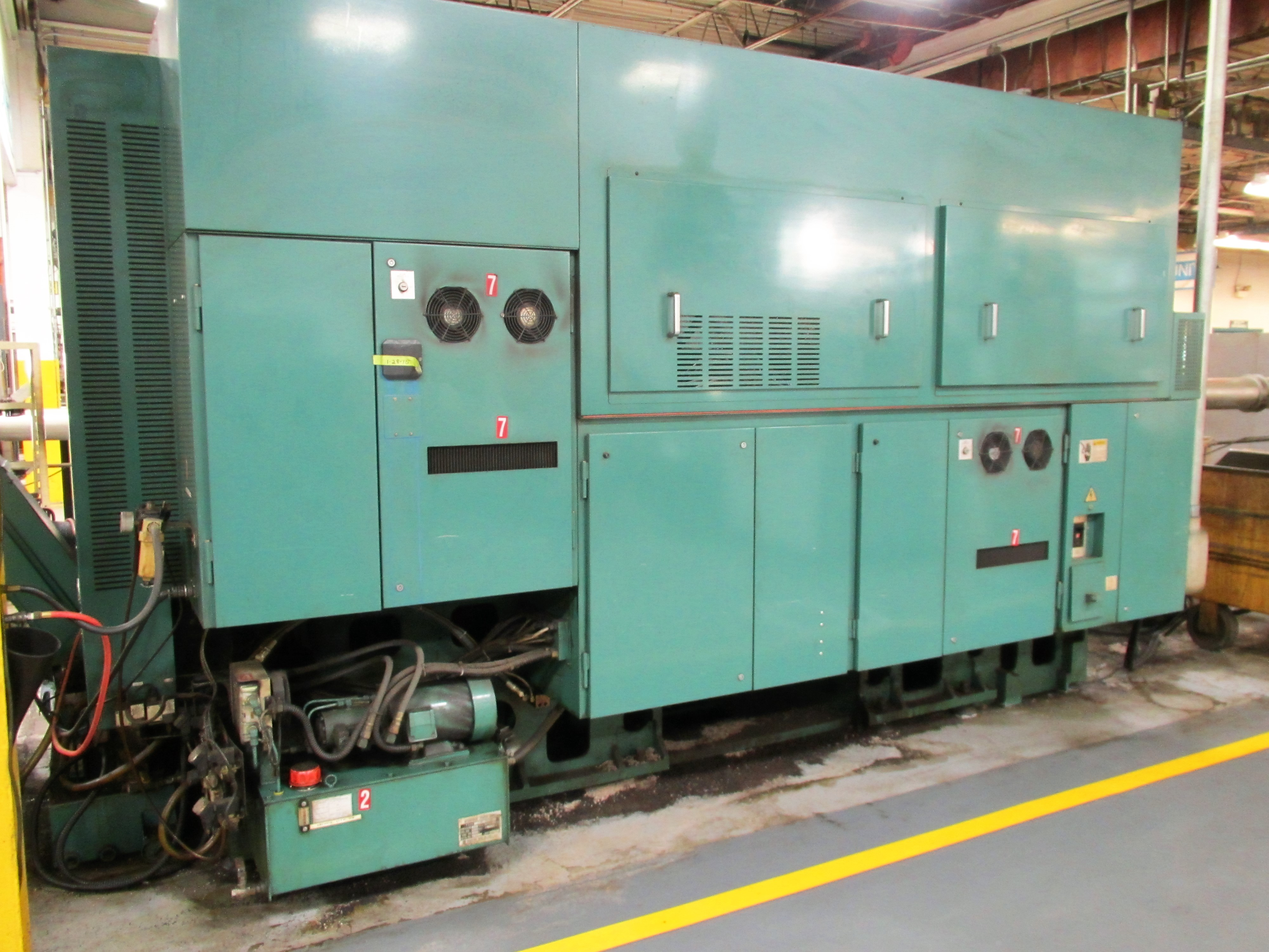 NAKAMURA TOME TW-30MM 7-AXIS CNC TWIN SPINDLE TURNING CENTER - Image 11 of 21