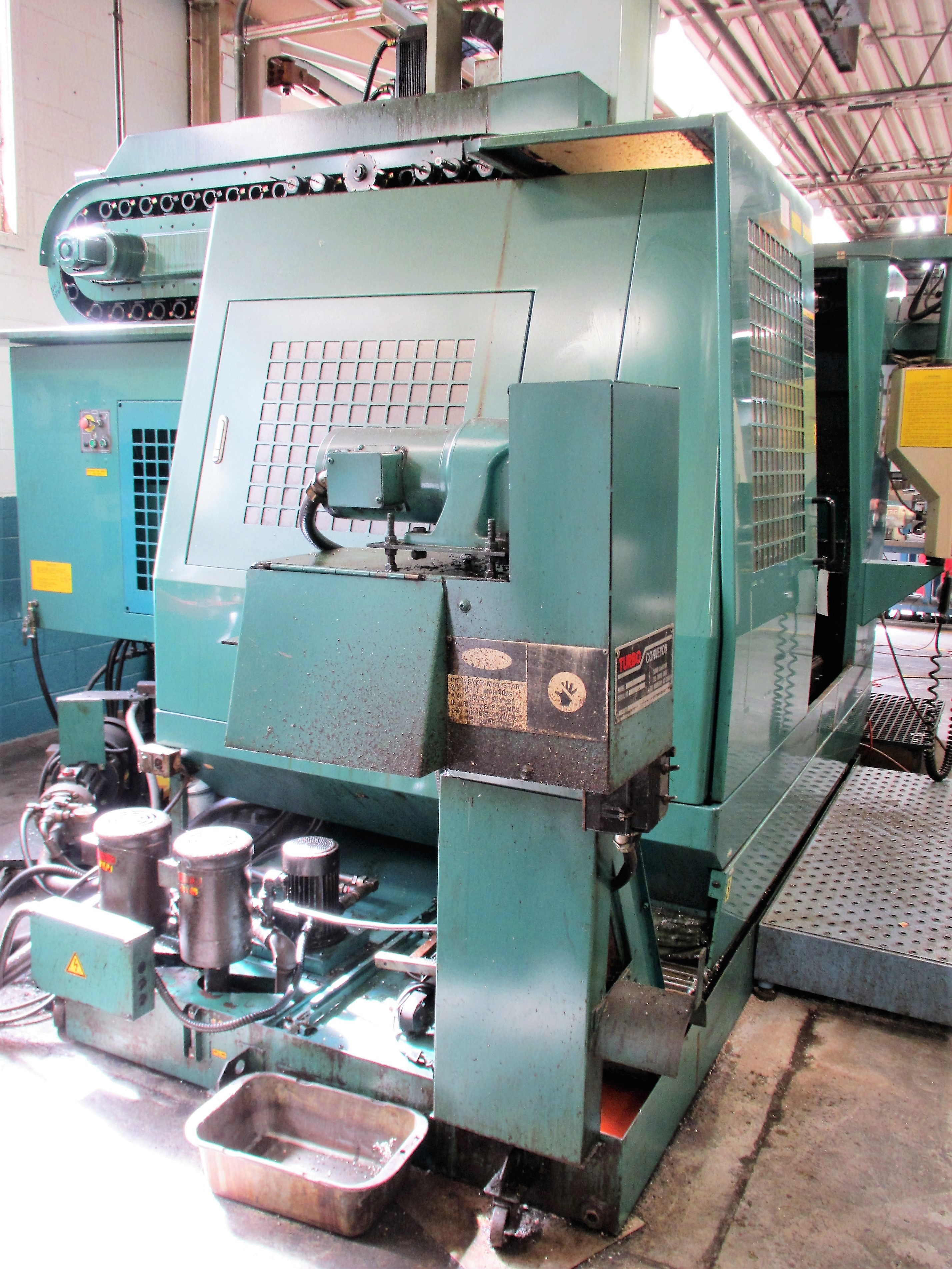 MATSUURA RA-4F CNC VERTICAL MACHINING CENTER WITH APC - Image 8 of 12