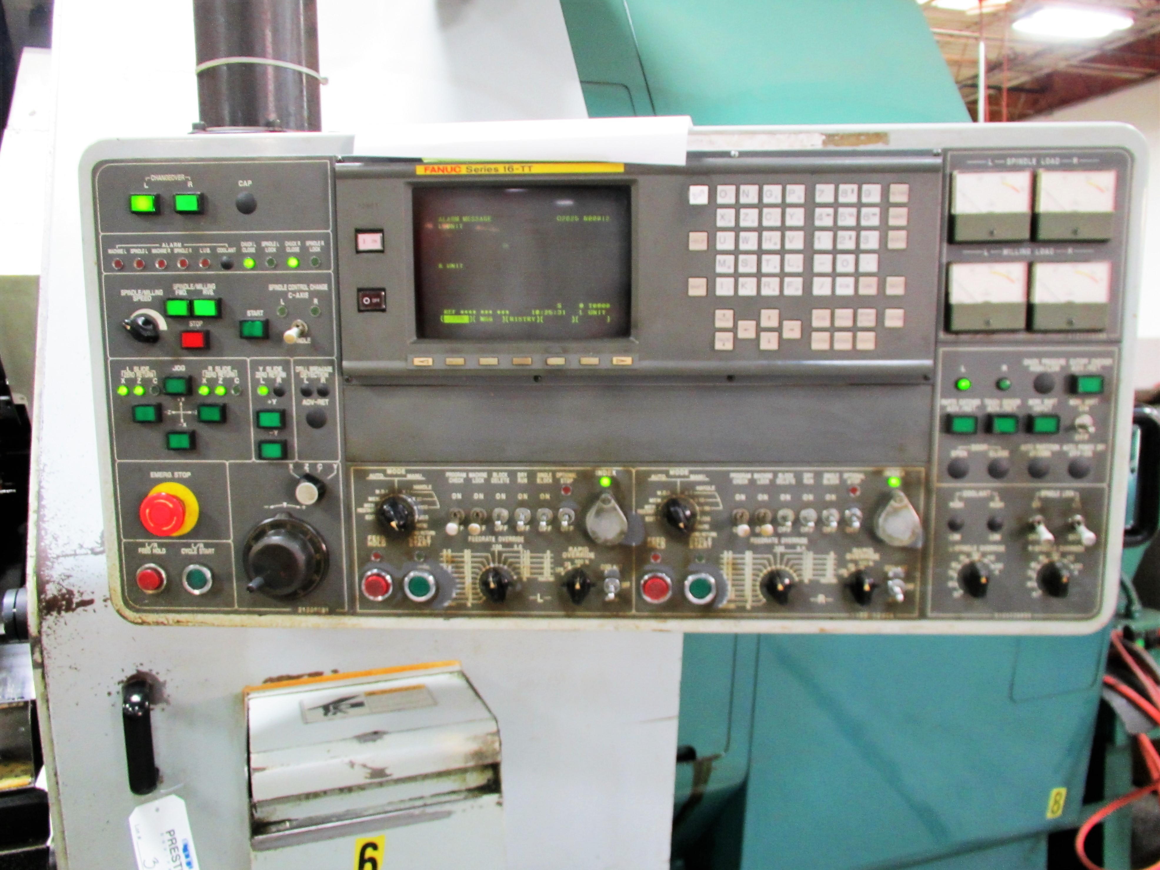 NAKAMURA TOME TW-30MM 7-AXIS CNC TWIN SPINDLE TURNING CENTER - Image 3 of 21