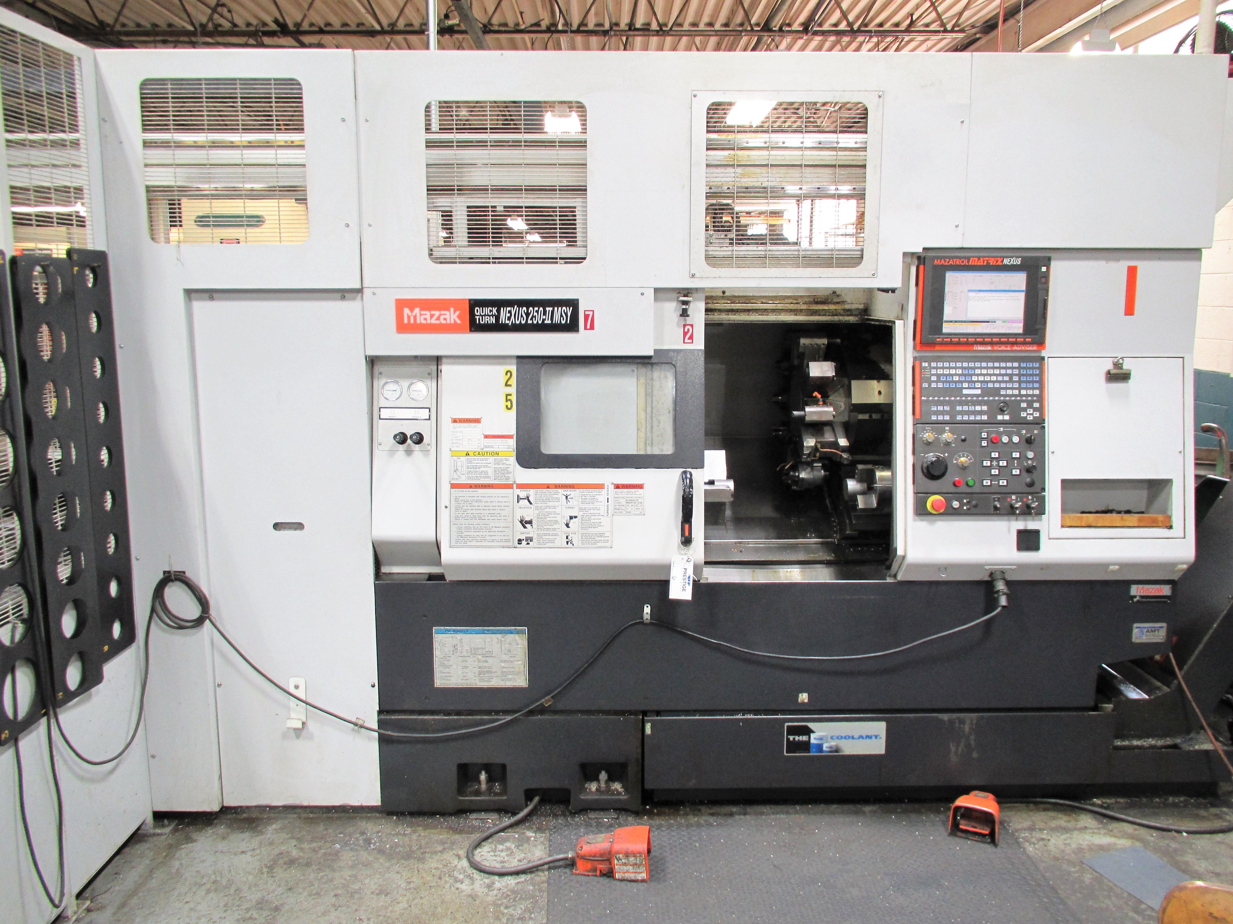 MAZAK QUICK TURN NEXUS 250-II MSY CNC TURNING CENTER