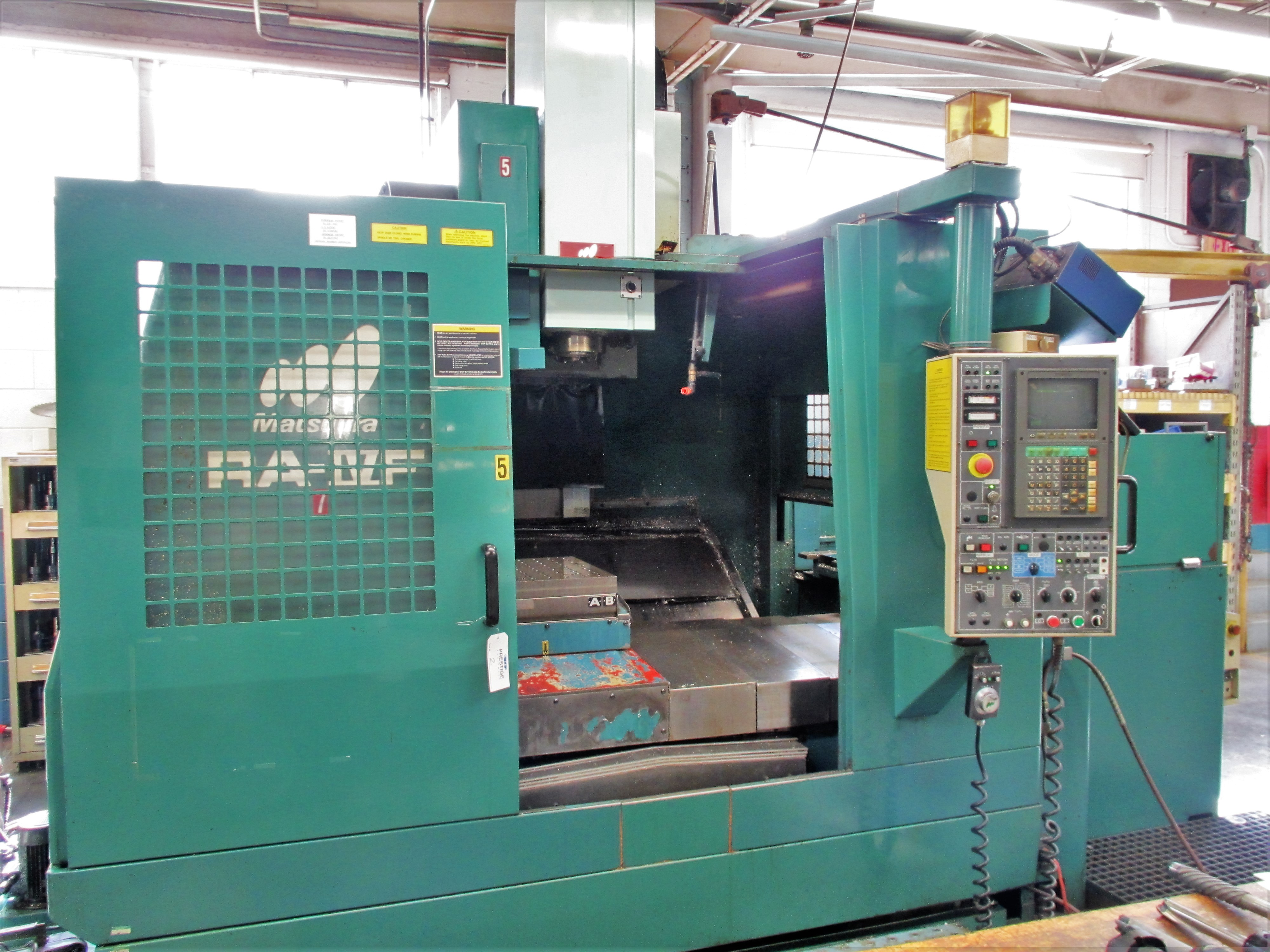 MATSUURA RA-4F CNC VERTICAL MACHINING CENTER WITH APC